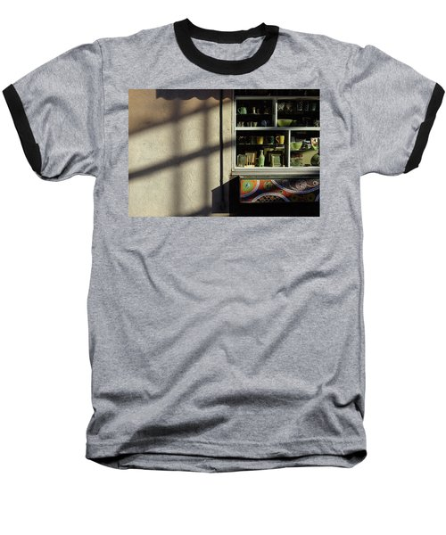 Morning Shadows Baseball T-Shirt by Monte Stevens