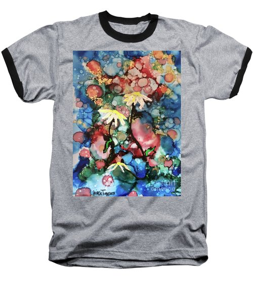 Baseball T-Shirt featuring the painting Mothers Day by Denise Tomasura