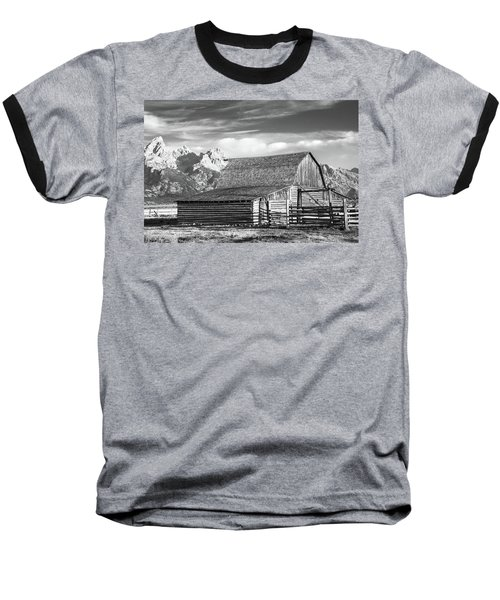 Baseball T-Shirt featuring the photograph Moulton Homestead - Barn by Colleen Coccia
