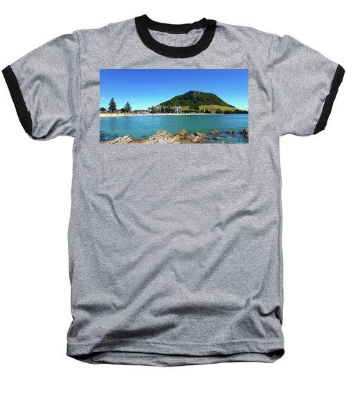 Mount Maunganui Beach 10 - Tauranga New Zealand Baseball T-Shirt
