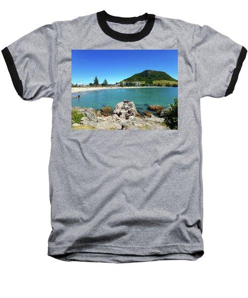 Mount Maunganui Beach 8 - Tauranga New Zealand Baseball T-Shirt