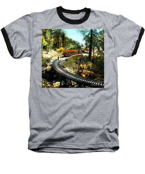 Mount Tamalpais Railway In The 1890s California Baseball T-Shirt