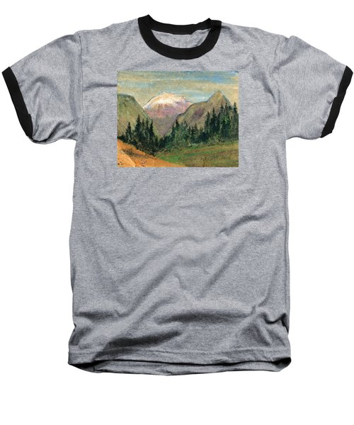 Mountain View Baseball T-Shirt by R Kyllo