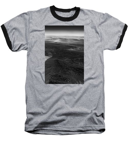 Mountains And Desert Baseball T-Shirt