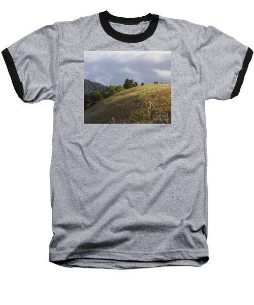 Mt. Tamalpais Study #1 Baseball T-Shirt