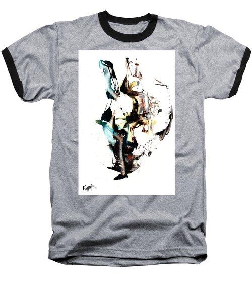 My Form Of Jazz Series 10064.102909 Baseball T-Shirt by Kris Haas
