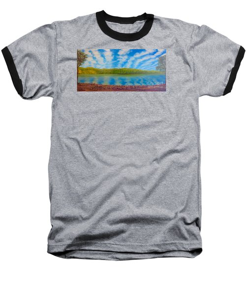 My Serenity Lies In A Place Between Heaven And Earth Baseball T-Shirt