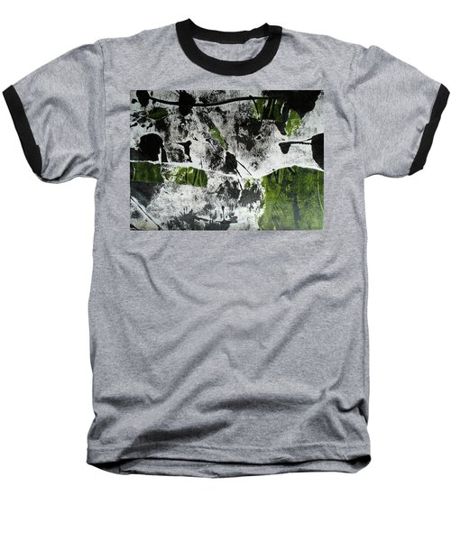 Baseball T-Shirt featuring the mixed media Mysterion II by Mary Sullivan