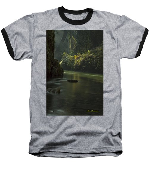 Mystical Canyon Signed Baseball T-Shirt