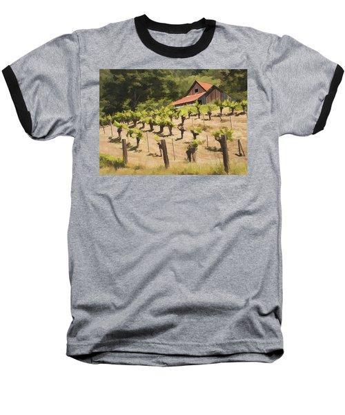 Napa Barn Baseball T-Shirt