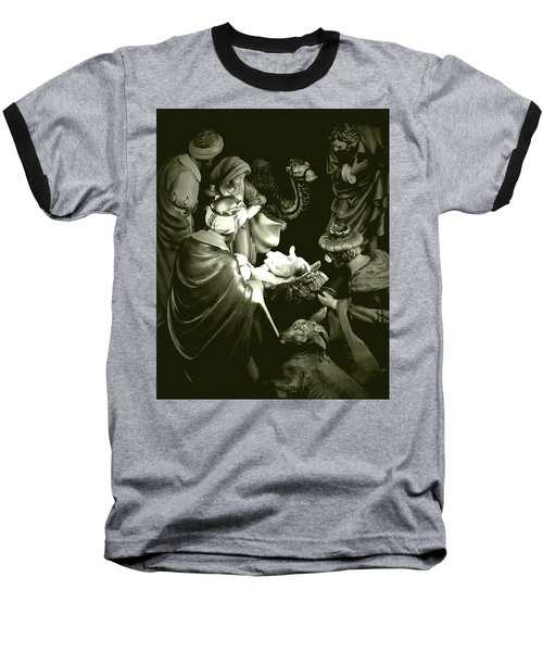 Nativity Baseball T-Shirt