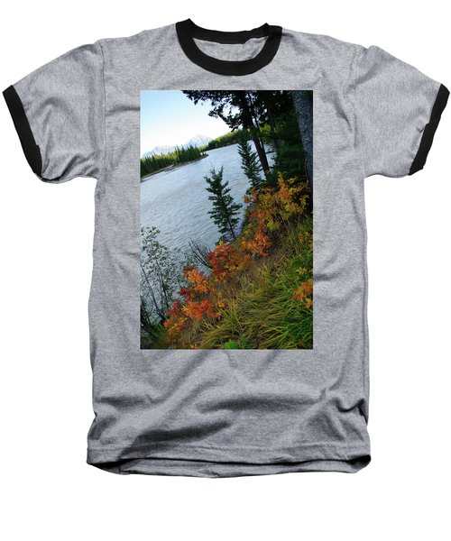 Natural Art Baseball T-Shirt by Rhonda McDougall
