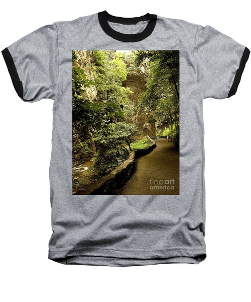 Baseball T-Shirt featuring the photograph Natural Bridge  by Raymond Earley