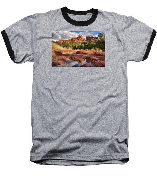 Nature's Cathedral Baseball T-Shirt