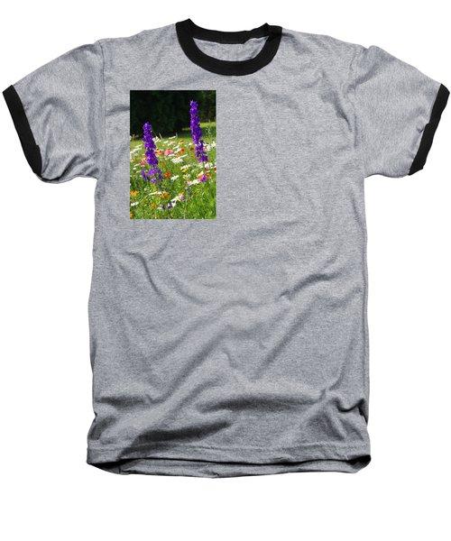 Ncdot Planting Baseball T-Shirt by Kathryn Meyer