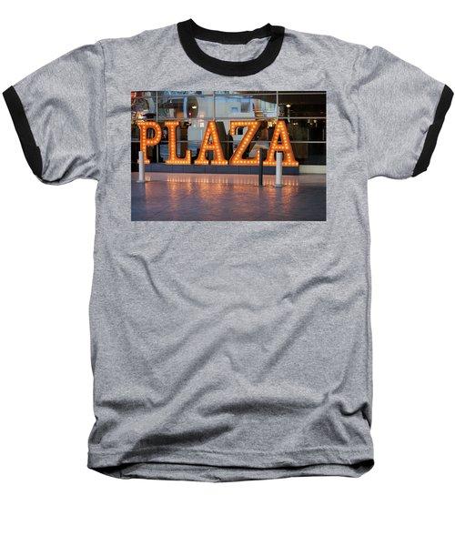 Neon Plaza Baseball T-Shirt