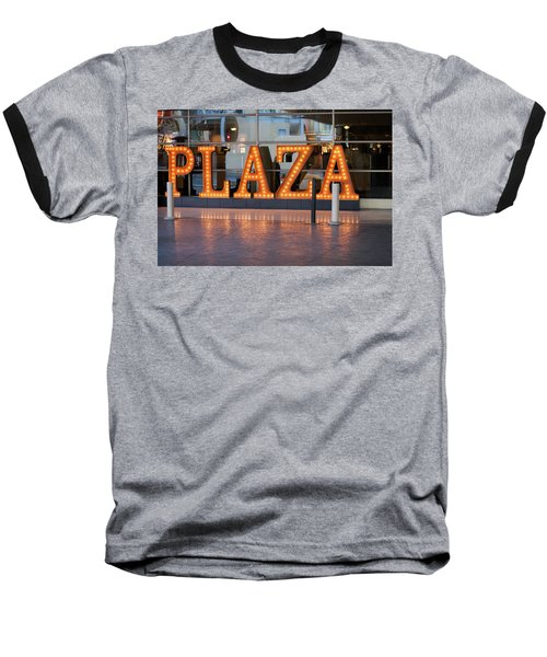 Neon Plaza Baseball T-Shirt