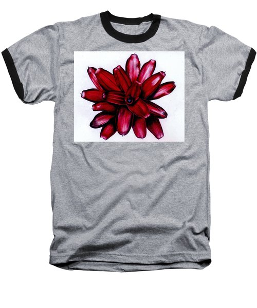 Neoregelia 'christmas Cheer' Baseball T-Shirt