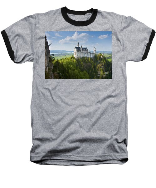 Neuschwanstein Castle Baseball T-Shirt