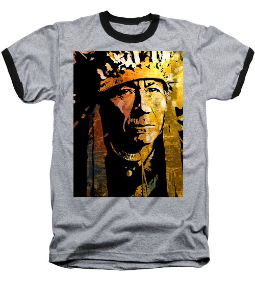 Nez Perce Chief Baseball T-Shirt