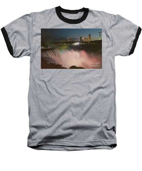 Baseball T-Shirt featuring the photograph Niagara  by Raymond Earley