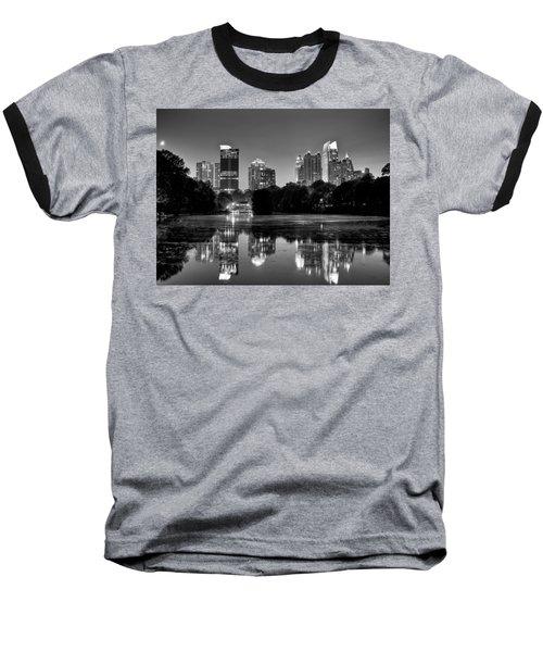 Night Atlanta.piedmont Park Lake. Baseball T-Shirt
