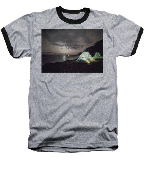 Night Gazer Baseball T-Shirt