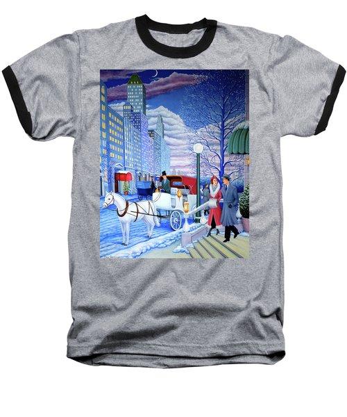 Nightfall Baseball T-Shirt by Tracy Dennison