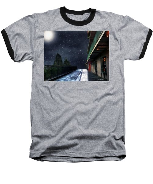 Nightwalk Baseball T-Shirt by RC deWinter