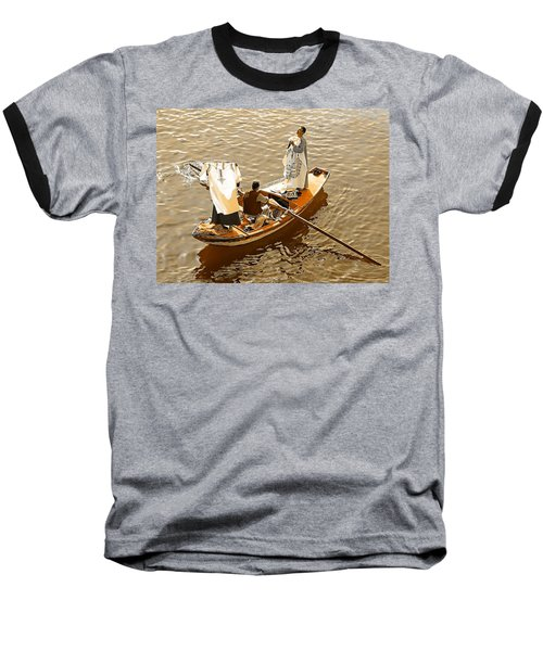 Nile River Merchants Baseball T-Shirt by Joseph Hendrix