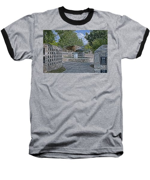 Nimitz Prop Fountain Baseball T-Shirt