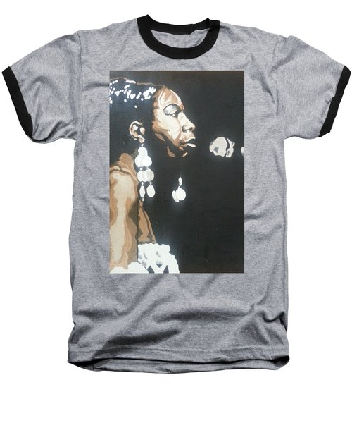 Nina Simone Baseball T-Shirt