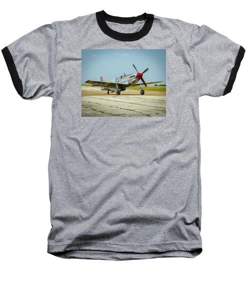 North American Tp-51c Mustang Baseball T-Shirt