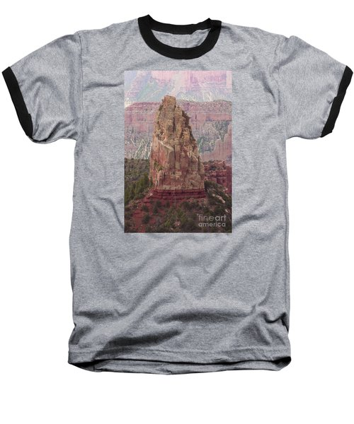 North Rim Rock  Baseball T-Shirt