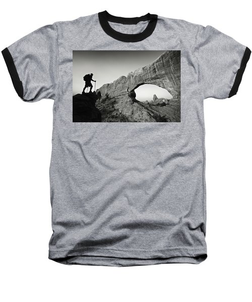 North Window Arch Baseball T-Shirt