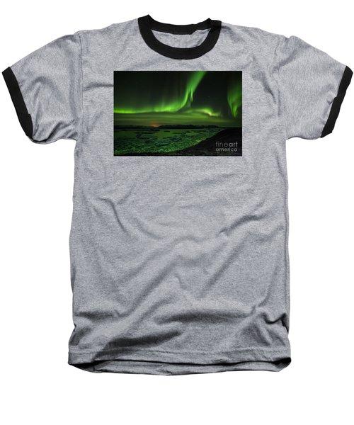 Baseball T-Shirt featuring the photograph Northern Lights 2 by Mariusz Czajkowski