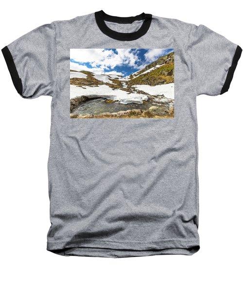 Norway Mountain Landscape Baseball T-Shirt