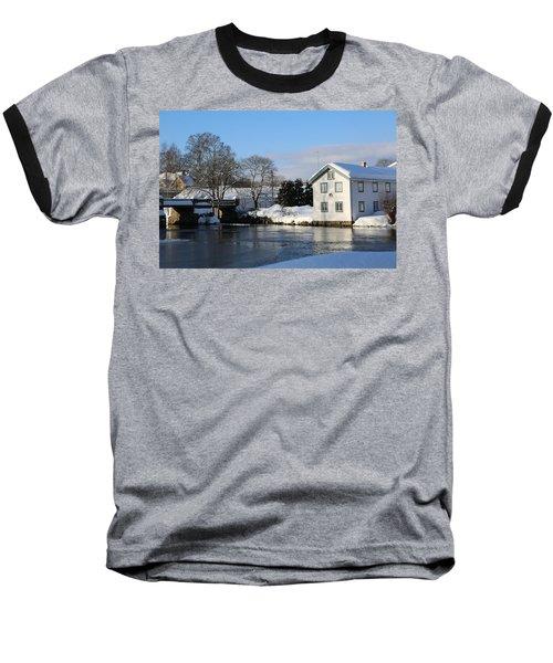 Norwegian Winter Landscape  Baseball T-Shirt