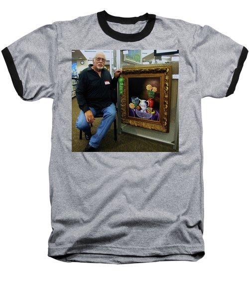Nostalgic Vision  Baseball T-Shirt by Gene Gregory