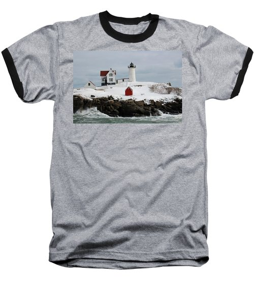 Nubble Point Maine Baseball T-Shirt