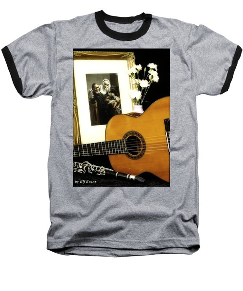 Baseball T-Shirt featuring the photograph Number 2 by Elf Evans
