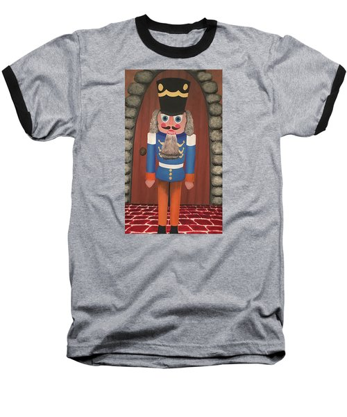Baseball T-Shirt featuring the painting Nutcracker Sweet by Thomas Blood
