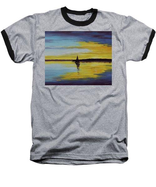 Ocean Sunset Baseball T-Shirt