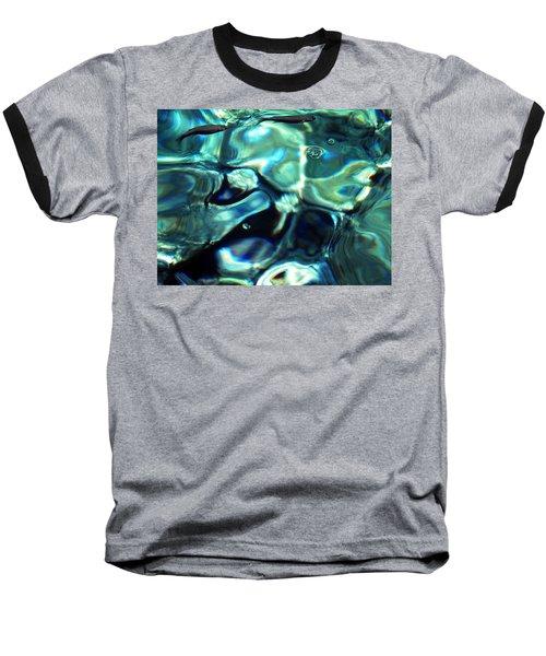 Baseball T-Shirt featuring the photograph Ocean Water by Colette V Hera  Guggenheim