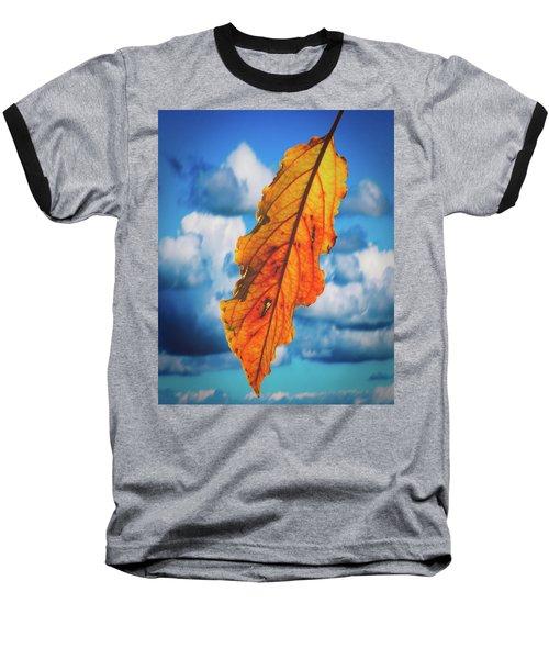 October Leaf B Fine Art Baseball T-Shirt