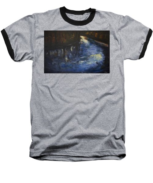 October Reflections Baseball T-Shirt by John Hansen