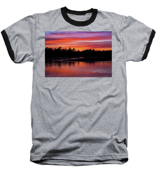 Odiorne Point Sunset Baseball T-Shirt