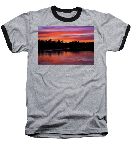 Odiorne Point Sunset Baseball T-Shirt