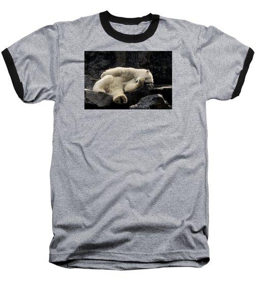 Oh What A Night Baseball T-Shirt by Michael Hubley