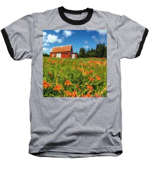 Old Barn In Cape Breton #2 Baseball T-Shirt